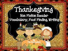 thanksgiving play thanksgiving reading fluency and language arts