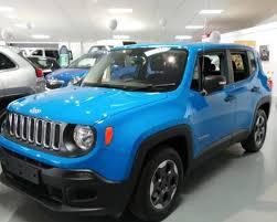 jeep renegade sierra blue used 2015 15 reg sierra blue jeep renegade renegade 1 6 multijet