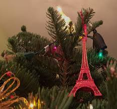 christmas season eiffel tower christmas ornament 31chances season