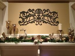 mantel christmas decorating ideas designed by green garland with
