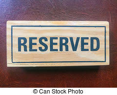 art of the table reservations signs reservation on the table signs reservation on the stock