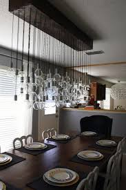 Diy Dining Room Chandelier Diy Dining Room Light This I Need To Wire Some Lights