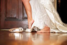 badgley mischka wedding shoes photo traditional wearing