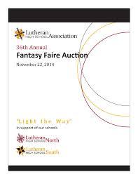 spirit halloween bridgeton mo lhsa 2014 fantasy faire auction catalog by lutheran high