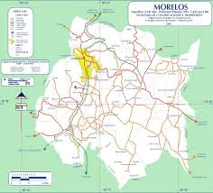 Maps De Mexico by Map Of Morelos State Mexico