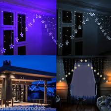 Outdoor V Lighting - 3m 136led multi color v type fairy curtain light indoor outdoor
