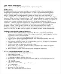 Manufacturing Engineer Resume Sample by Industrial Engineer Job Description 26 10 The Happiest Jobs In Us