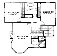 Center Hall Colonial Floor Plans 100 Colonial Style Floor Plans Colonial House Plans