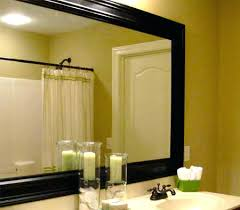 how to frame a bathroom mirror with molding add frame to bathroom mirror how to add molding to a wall mirror add