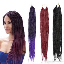 best hair for braid extensions ombre purple straight weave crochet braiding hair extensions