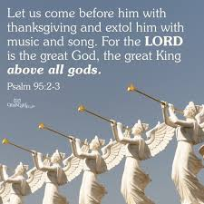 psalms 95 2 search biblical wisdom psalm