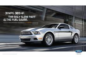 2000 ford mustang v6 mpg mustang 31 mpg 305 hp print ad by team detroit