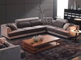 Modern Fabric Sectional Sofas Furniture Japanese Asian Style Living Room Decor With Modern