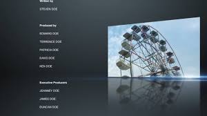 end credits premiere pro templates on vimeo