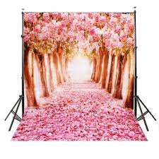vinyl photography backdrops mohoo 5x7ft silk photography backdrop cherry blossoms
