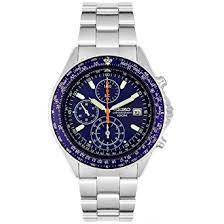 watches chronograph amazon com seiko s snd255p1 flightmaster pilot slide rule