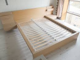 bedding inspiring ikea malm bed frame and side tables in limehouse