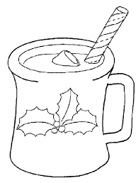 printable coloring pages christmas drink christmas coloring