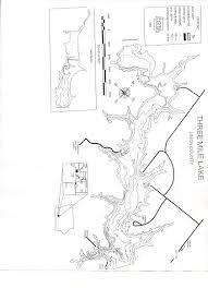 Map Of Iowa Counties Three Mile Recreational Area Union Ia