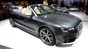 convertible audi 2013 2014 audi rs5 convertible exterior and interior walkaround