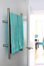 bathroom accessories heated towel bar wall mounted towel rack
