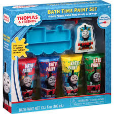 thomas u0026 friends bath time paint set 7 pc walmart com