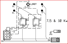 need wiring diagram for heater coils inter city product model