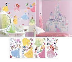 Disney Princess Bedroom Ideas Disney Princess Room Makeover Kit Which Includes A 3d Wall Clock