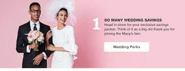 wedding registry deals wedding registry benefits macy s