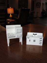 reserved for jeanne white dollhouse kitchen stove u0026 sink