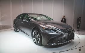 new lexus ls 2017 2017 naias the 2018 lexus ls takes on a more dramatic design