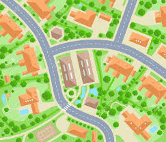 Kids City Rug by City Road Map Clipart Clipartxtras
