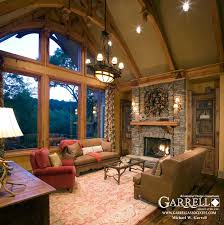 Home Plans With Interior Photos Nantahala Cottage House Plan House Plans By Garrell Associates Inc