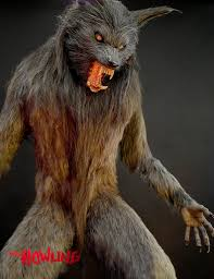 werewolf halloween decorations special effects peeled skin effect using scab blood cotton and