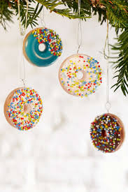 donut ornament set ornaments string lights