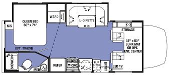 Motorhome Floor Plans Forest River Sunseeker Mbs Rv Dealer Washingtons Rv Dealer Of Choice
