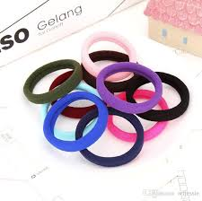 hair holders fashion black and candy colored hair holders elasticity rubber