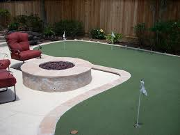Backyard Golf Course by Backyard Mini Golf Design And Ideas Of House