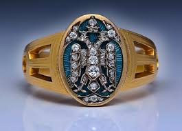 mens rings for sale faberge russian imperial eagle men s ring 1915 antique jewelry