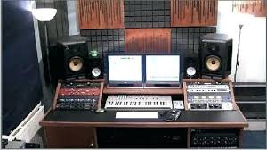 Diy Recording Desk Recording Studio Desk Shippies Co