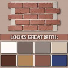 colors that go well with red exterior paint colors that go well with red brick home painting