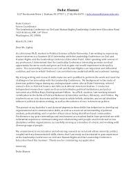 Cover Letter For Educational Leadership Phd Cover Letter Political Science