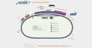 Mia Terminal Map Seating Chart U0026 Maps Michigan International Speedway