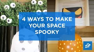diy decorations 4 frightfully easy halloween decorating hacks