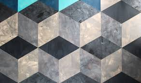 diamond strata cowhide leather wall tiles materialist avo panels