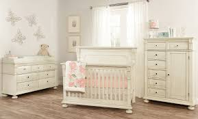 Antique White Convertible Crib Mid Century Claremont Collection Set Oxford Baby