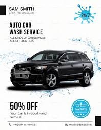 car wash flyer template car 6 page research paper example