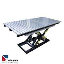 Folding Welding Table Lifting Welding Table Forster Welding Systems Gmbh