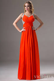 orange dress orange cheap prom dresses victoriaprom