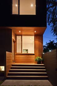Modernday Houses by Dark Modern Day House In Toronto Illuminated From The Inside